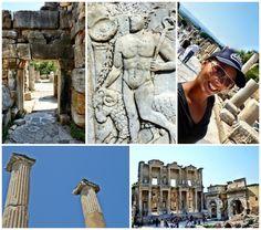 Ephesus Turkey Ruins UNESCO Best Places to Visit in Turkey  Cappadocia, Ephesus, Pamukkale, Istanbul, Turquois Coast, Mt Nemrut, Urfa