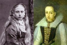 1)  Princess Beatrice, Queen Victoria's youngest child 2) Elizabeth Bathory - Match made by Brian Stalin - http://www.crimelibrary.com/serial_killers/predators/bathory/countess_1.html