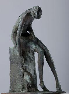 After the Soldiers Left Bob Quinn, Minimalist Furniture, Contemporary Sculpture, Sculpture Art, Sculpting, Statue, Design, Human Figures, Art