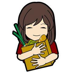 お買い物たくさんしちゃった! #LINE #LINEスタンプ #LINEクリエイターズスタンプ #ただいま制作中 #cute #キュート #kawaii #かわいい #girl #girls #女の子 #女性 #イラスト #illust #illustration #art #manga #draw #drawing #artworks #doodle #graphic #creative [イラスト制作] http://anosorae.com/