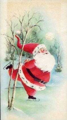 Special Bonus Vintage Christmas Card from the early Wish You Merry Christmas, Old Christmas, Christmas Scenes, Retro Christmas, Father Christmas, Christmas Wreaths, Christmas Decorations, Vintage Christmas Images, Vintage Holiday