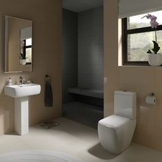 RAK Ceramics Metropolitan range contemporary bathrooms