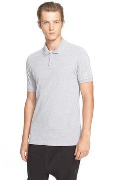 Y-3 'Classic' Cotton Piqué Polo. #y-3 #cloth #