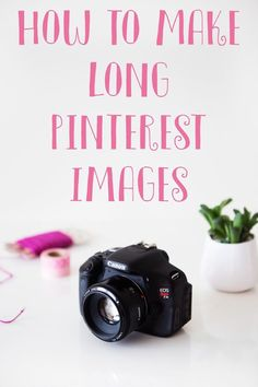 A Short Tutorial To Create Long Images For Pintere Facebook Marketing, Content Marketing, Media Marketing, Online Marketing, Pinterest Images, Pinterest For Business, Blogging For Beginners, Pinterest Marketing, Social Media Tips