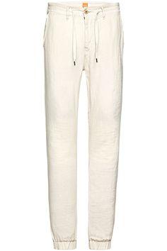 Pantalon en Lin Seth-D