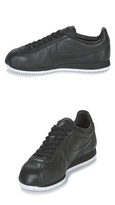 Nike Classic Cortez Premium Leather black Sock Shoes, Men's Shoes, Dress Shoes, Hip Hop Fashion, Mens Fashion, Nike Classic Cortez, Nike Cortez, Dress Code, Shoe Game