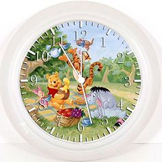 New Winnie the Pooh Wall Clock 10 Will Be Nice Gift and Room Wall Decor Y28 * Click image for more details. (This is an affiliate link) #Clocks