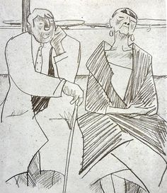 Сойфертис  Леонид Владимирович (Россия, 1911-1996) «Транзитные пассажиры»