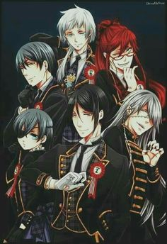 The men... And Grell