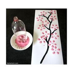 Spring Tree Crafts – 20 Plus Crafts For Kids - A More Crafty Life New Year's Crafts, Crafts To Make And Sell, Arts And Crafts Projects, Tree Crafts, Crafts For Teens, Kids Crafts, Preschool Crafts, Sell Diy, Crafts Cheap