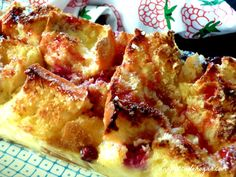 pastel de pan duro sin lactosa y sin gluten al microondas : via MIBLOG
