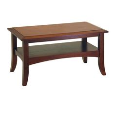 Winsome Wood 94234 Craftsman Coffee Table