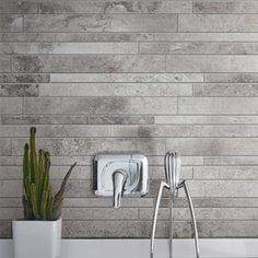 Ceramic Porcelain stone tiles for floor and wall: La Roche could be used in kitchen as well in a cordinated colour and smaller tiles