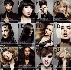 The British are Coming  which is your favorite ? ;-) Naomi Campbell, Daisy Lowe, Stella Tennant, Twiggy, Yasmin Le Bon, Susie Bick, Alice Dellal, Agyness Deyn, Lily Donaldson, Jourdan Dunn, Eliza Cummings and Kate Moss