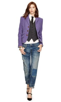 fb5a0b1725ac9c Veste en laine d alpaga - Polo Ralph Lauren Blazers - Ralph Lauren France  Prêt