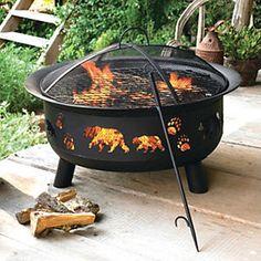 Black Bear Fire Pit