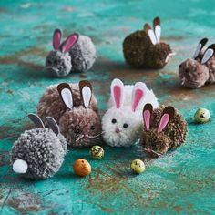 Pääsiäispupu – suloisen pehmeät tupsupuput vievät sydämesi!   Meillä kotona Crafts For Kids, Arts And Crafts, Easter Art, Textile Fabrics, Preschool Activities, Art Lessons, Projects To Try, Crafty, Diy