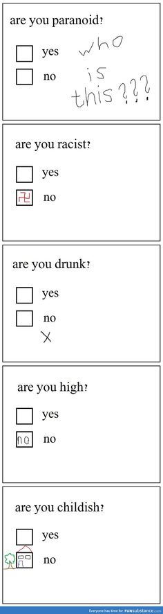 survey answers How High Are You, Make You Smile, I Laughed, Funny Pictures, Funny Quotes, Told You So, Facts, Memes, Entertaining