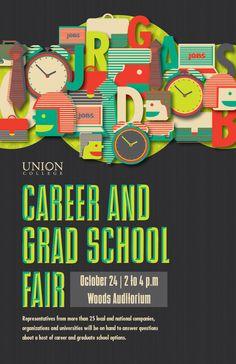 UC Career Fair Poster on Behance