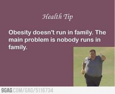 Health Tip Insensitive Quotes, Weight Loss Inspiration, Fitness Inspiration, Weight Loss Motivation, Fitness Motivation, Healthy Foods To Eat, Belly Laughs, Healthy Weight Loss, Best Funny Pictures
