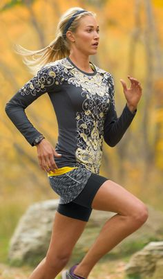 Shop by Sport: Run Outfit Ideas | Athleta...hooray...it's finally cool enough out to wear this from the boys:)