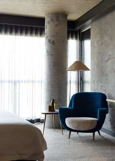 Canberra's newest hotel brings together the talents of Melbourne based firms Fender Katsalidis, OCULUS and March Studio, with Japan's Suppose Design Office, alongside a host of individual designers, artists, and independent creatives. Creative collaboration on a grand scale.