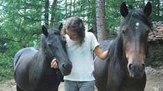 Una defensora de los caballos libres llamada Sarah.  https://www.facebook.com/forohorses/