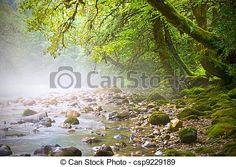 Stock Photo - mountain stream - stock image, images, royalty free photo, stock photos, stock photograph, stock photographs, picture, pictures, graphic, graphics
