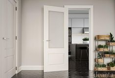 Deanta NM3G door comes unglazed and primed white. Available from our Showrooms in Tramore and Clonmel and online