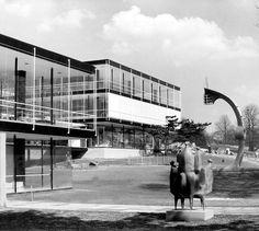 Egon Eiermann - Deutsche Pavillon - Weltausstellung 1958