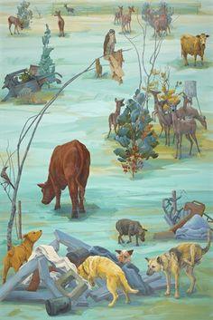 Proximity - Tapestry - 2007 - Melissa Miller, American