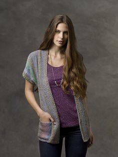 Ravelry: Cuff to Cuff Sweater pattern by Julie Farmer