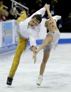 Tatiana Volosozhar and Maxim Trankov, Skate America 2013, Pairs costume inspiration for Sk8 Gr8 Designs