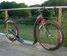 Zockra carbon scooter