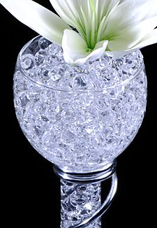 $2.20 Clear Gel Floral Water To Beads