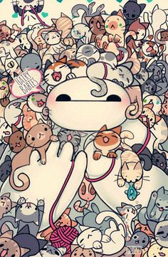 Baymax...pretty kitty