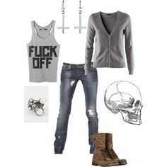 What I would wear to a rock concert.