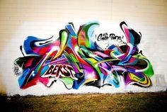 Berst GBAK. Graffiti.