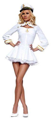 Elegant Admiral Sexy Sailor Costume