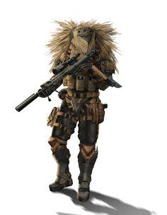 sci fi soldier concept art | Sci-Fi Concept Art