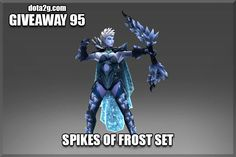 Giveaway 95 - Spikes of Frost Set
