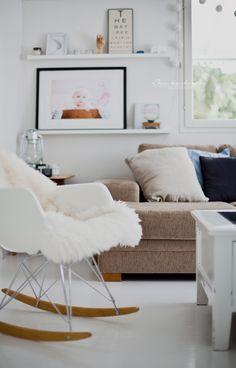 Vitra RAR-chair. Rocking Chair, Living Room, Furniture, Home Decor, Homes, Chair Swing, Rocking Chairs, Decoration Home, Room Decor
