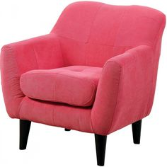 Furniture of America Heidi Kids Chair, Pink