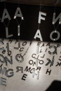 Word Curtains - Jaume Plensa