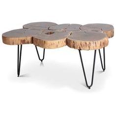 table acrylique quebec rondins de bois d co montagne pinterest rondin de bois rondin et. Black Bedroom Furniture Sets. Home Design Ideas