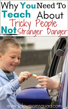 Learn why teaching kids about tricky people is better and can safe your child's life vs. teaching your child about stranger danger. A must read, and teach you kids today. #trickypeople #strangerdanger #kidssafety #keepingkidssafe #teachingkidssafety #kidssafetytips Parenting Humor, Parenting Advice, Kids And Parenting, Teaching Kids, Kids Learning, Funny Feeling, Stranger Danger, How To Teach Kids, Kids Behavior