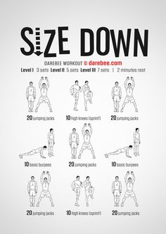 Size Down Workout