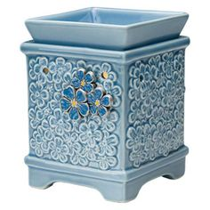 FORGET ME NOT SCENTSY WARMER ~ SPECIAL WHILE SUPPLIES LAST!