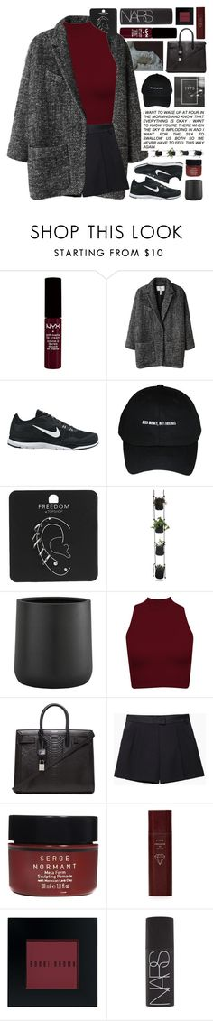 """""""Untitled #2456"""" by tacoxcat ❤ liked on Polyvore featuring American Eagle Outfitters, Étoile Isabel Marant, NIKE, Topshop, Crate and Barrel, Yves Saint Laurent, 3.1 Phillip Lim, Serge Normant, Byredo and Bobbi Brown Cosmetics"""