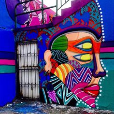 Bright work by @camemoreno in Mexico - http://globalstreetart.com/came-moreno #globalstreetart